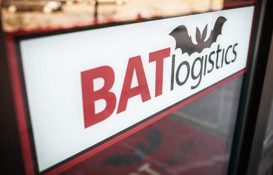 A BAT Logistics sign